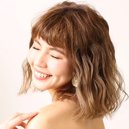 【花嫁髪型】ショートをいかしたおしゃれダウンスタイル