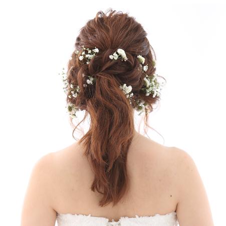 なりたい理想の花嫁になれる!!2017年トレンドを抑えた髪型&ヘッドアクセサリー10