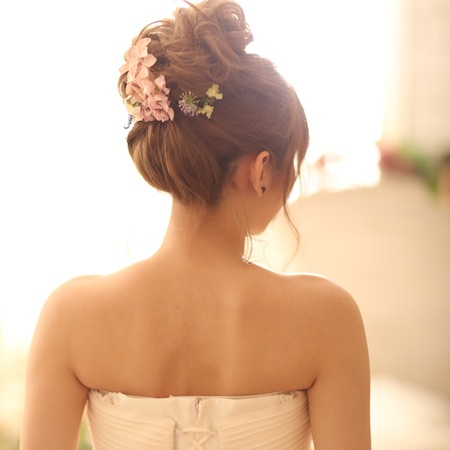 【愛され】ルーズなおだんごヘアスタイル