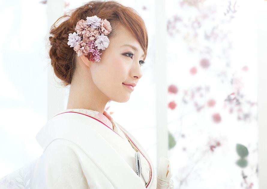 編み込みまとめ髪01