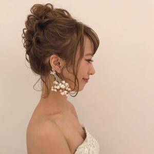 ドレスに合う流行ヘアスタイルBEST3!04