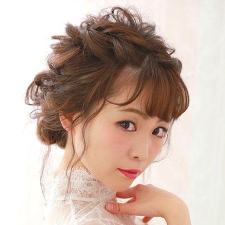 【NEW】最新「なりたい♡」花嫁ヘアアレンジ 見つけた!04